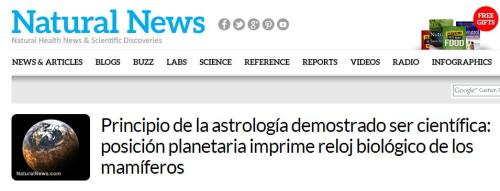 natural news astrologia