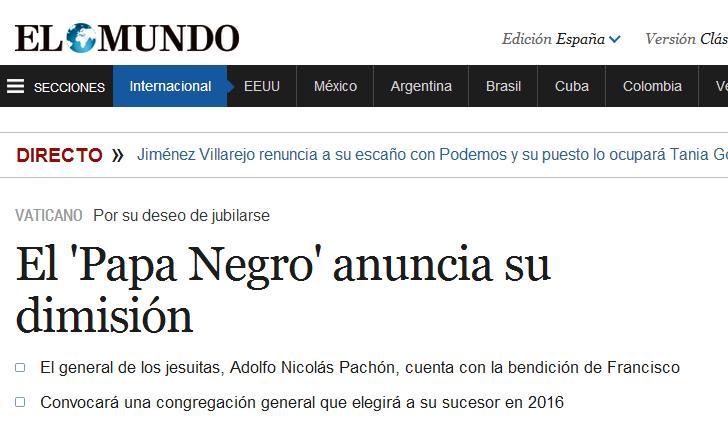 papa negro 2016