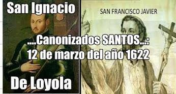 san igancio loyola t san francisco javier