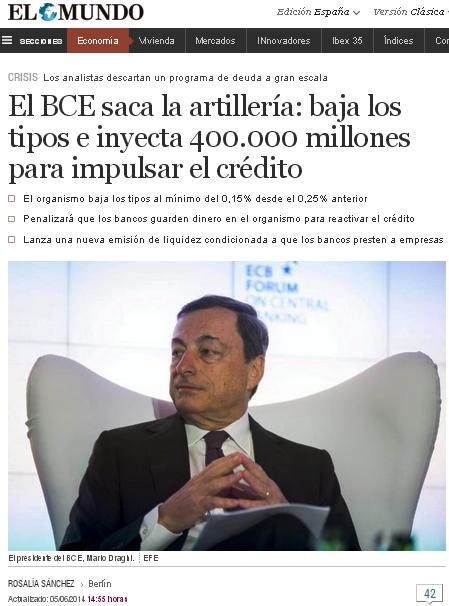 BCE 400.000 millones