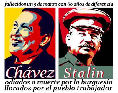 chavez stalin