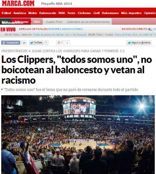 clippers todos somos uno