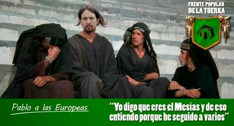 Frente Judea de Pablo Iglesias