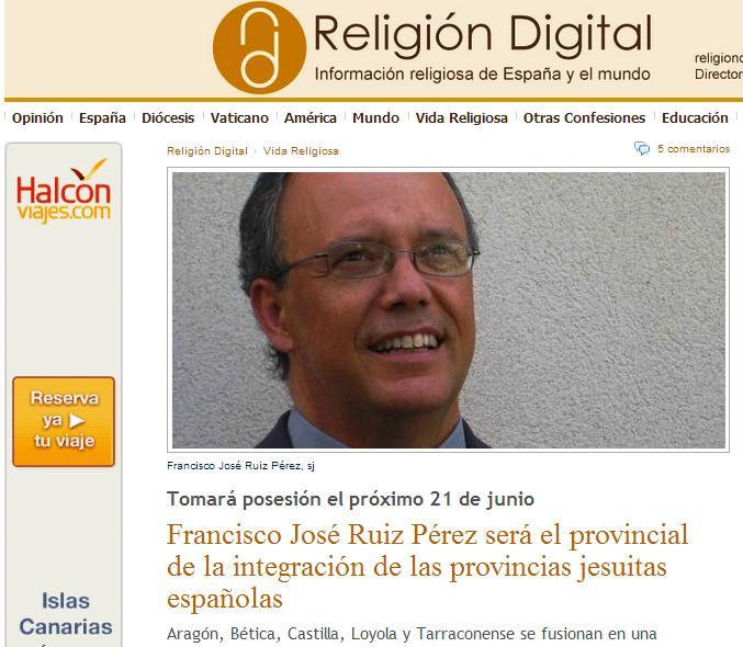 jesuitas 21 junio 2015 5 provincias
