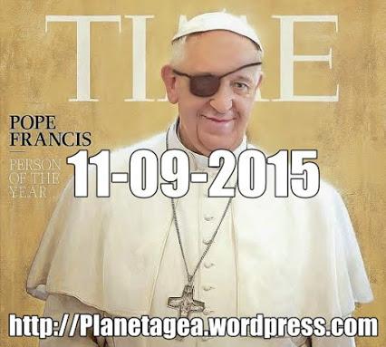 Papa ANTICRISTO OJO que TODO LO VE, UNIDAD. 11-06-14
