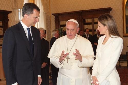 audiencia reyes y papa francisco 30junio14