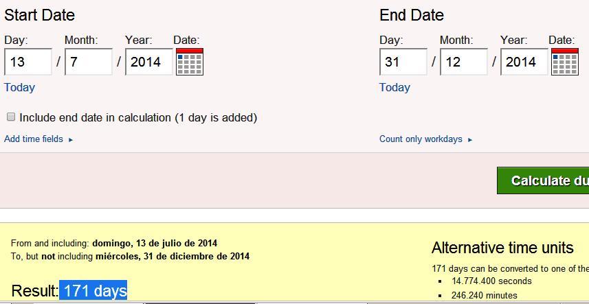 desde final mundial hasta final año 171 dias y goles