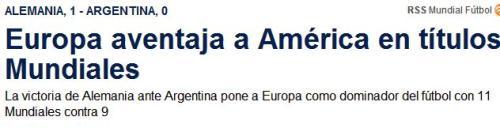europa 11 américa 9