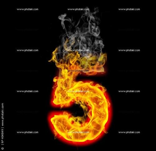 numero-5-con-fuego-cinco_404849