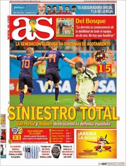 portada-as-derrota-historica-españa-holanda-mundial-brasil