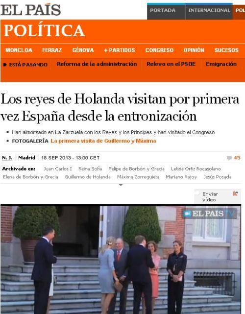 REYES HOLANDA ESPAÑA 141 DIAS