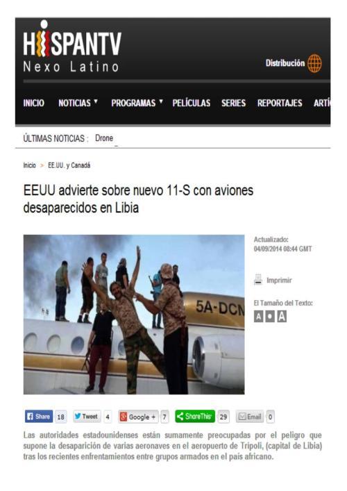 11 aviones robados libia para 11$