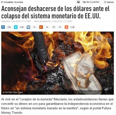 DOLARES COLPASO DESHACERSE