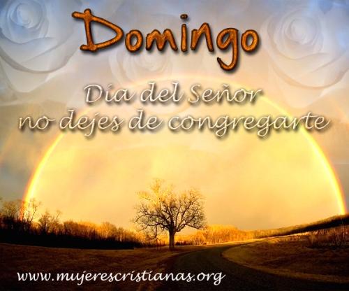 Domingo Dia del Señor no dejes de congregarte