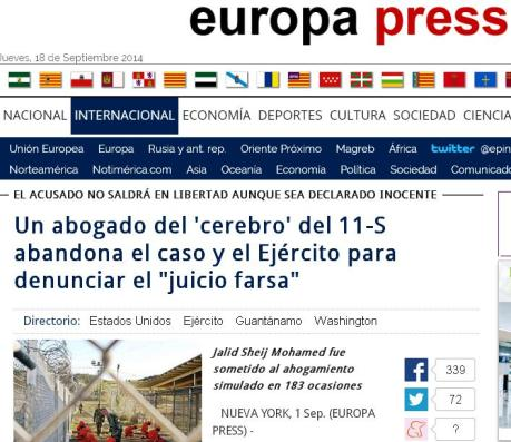 europa press fqarsa juicio 11S