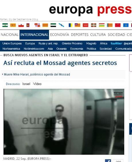 europa press mossad nuevos agentes