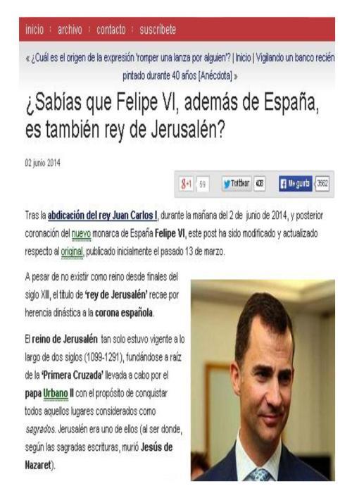 felipe vi rey jerusalen