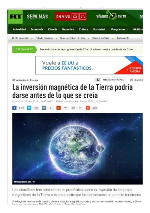 inversion polos magneticos