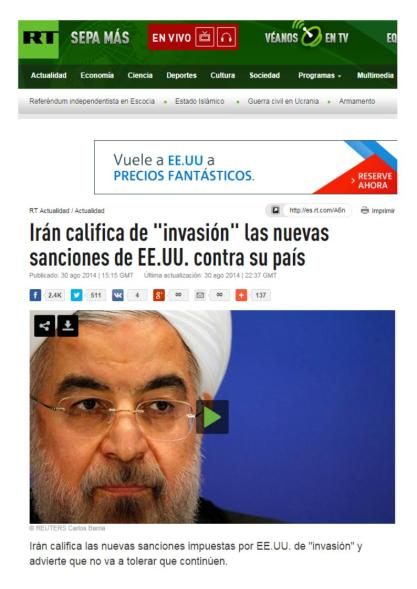 IRAN INVASION SANCIONES