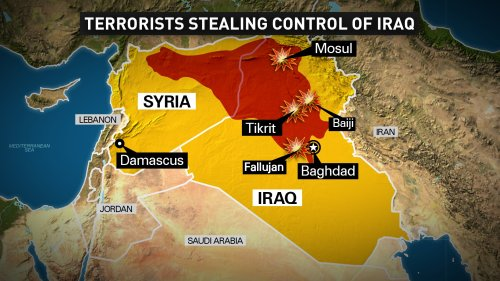 June 12 - Terrorists Stealing Control of Iraq