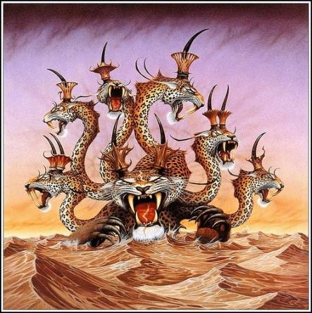 la cuarta bestia con diez cuernos