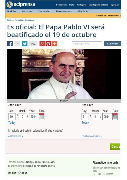 papa pablo vi 19 octubre
