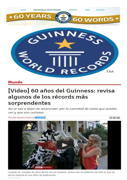 record guinnes 60 11-09-14