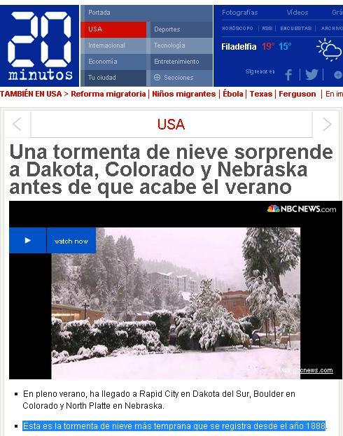 tormenta de nieve eeuu  verano
