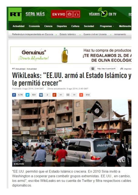 wikileaks isis eeuu