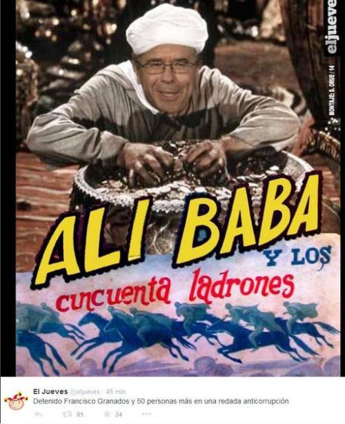 alibaba y los 40 ladrones