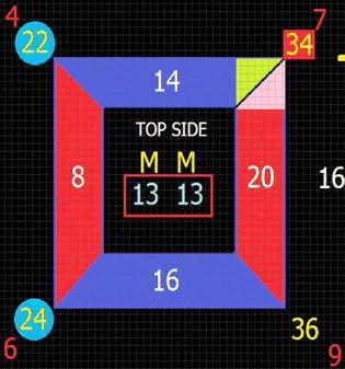 descomposicon sumas lados en un numero)