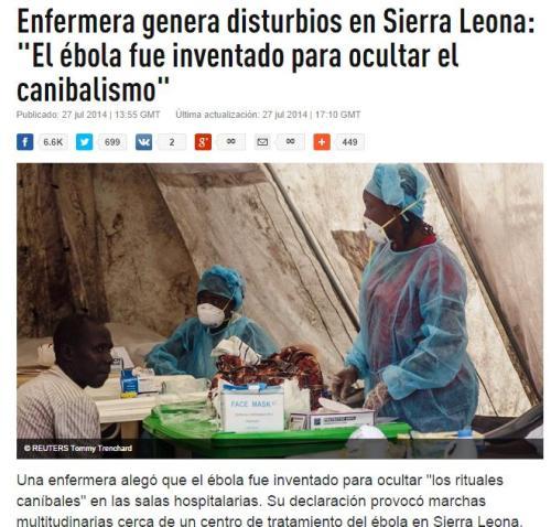 ebola canibalismo