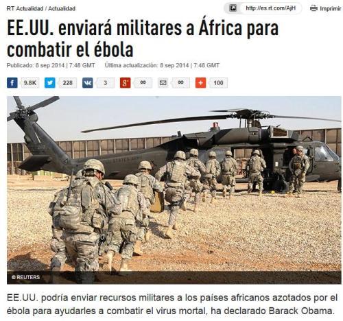 ebola eeuu militares