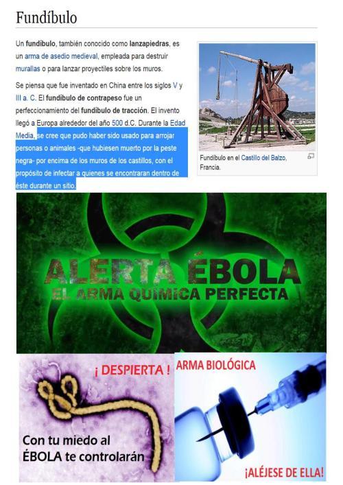 ebola españa jesuitas arma biologica