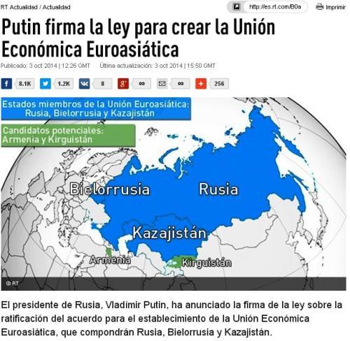 union economica euroasiatica