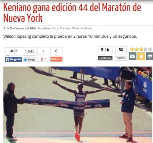 44 maraton ny