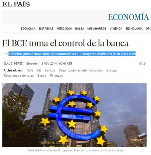 bce toma el control de la banca