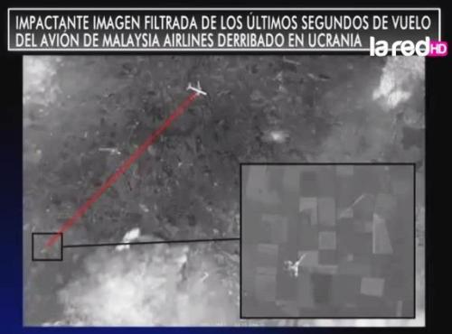 caza ucraniano derribo avion malayo