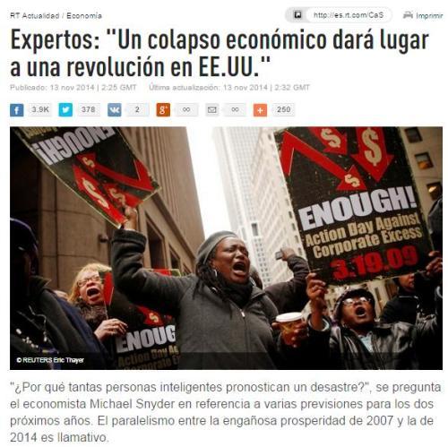 colapso revolucion eeuu