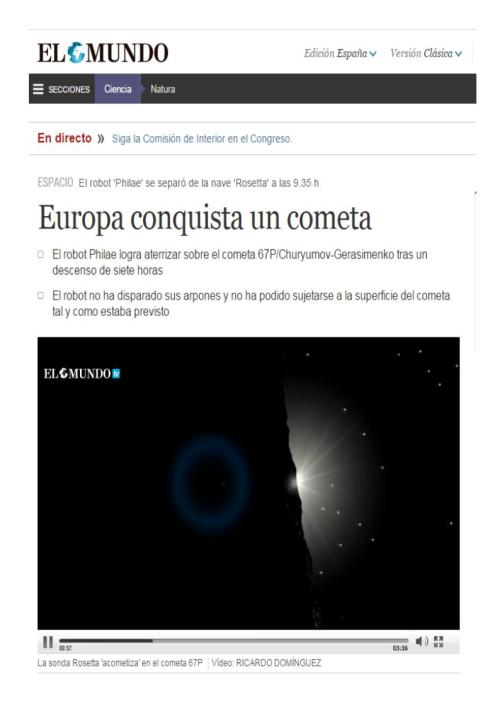 cometa rosseta
