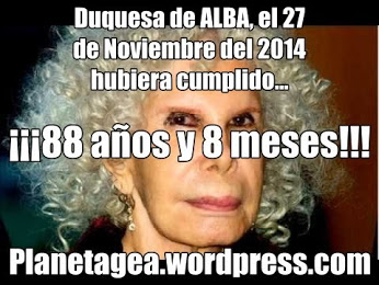 duquesa de alba 88 años y 8 meses