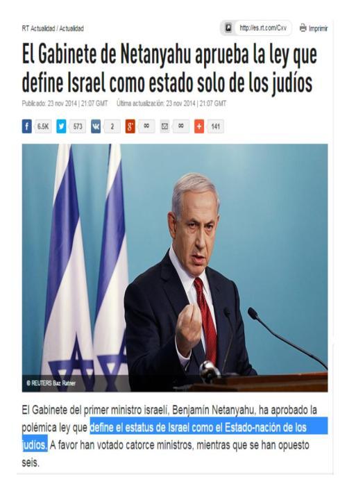 israel estado judio