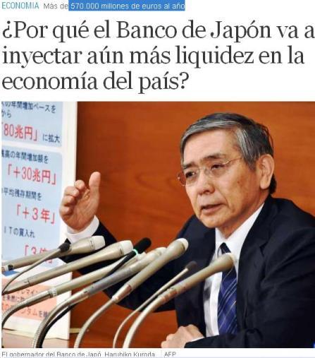 japon liquidez banco
