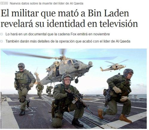 militar mato bin laden