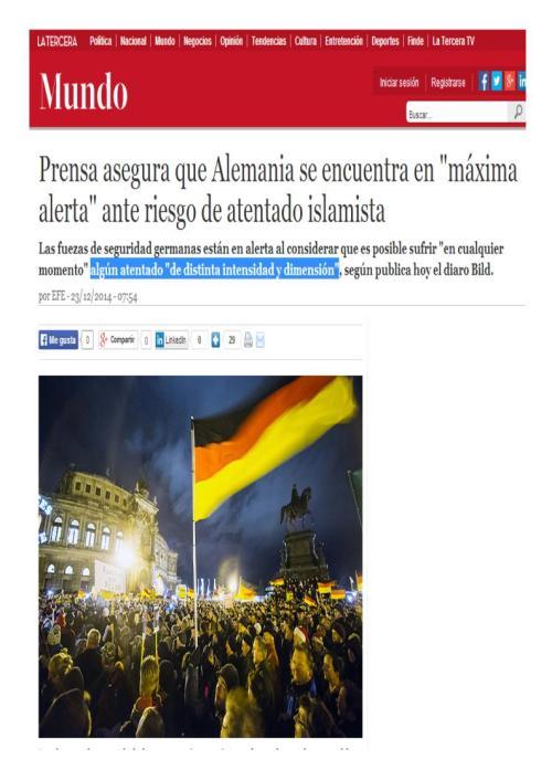 alemania en alerta terrorista