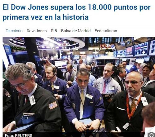 dow jones 18000 6+6+6