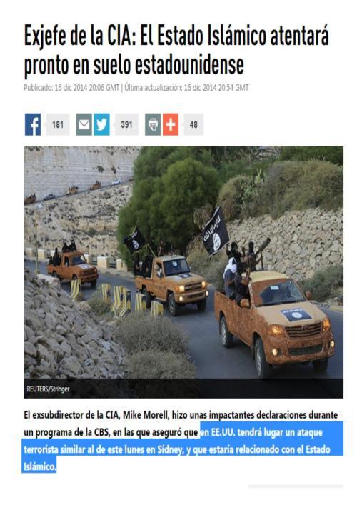 estado islamico eeuu cia
