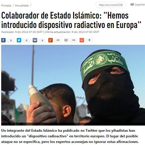 isisi bomba sucia europa