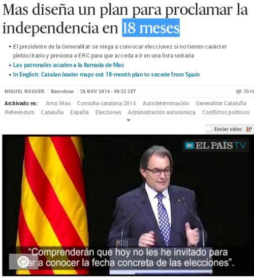mas 18 meses independencia cataluña