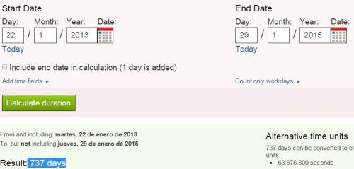 737 dias entre hijos saquira y pique nacidos ambos el 2-02 o 33 dia calendario gregoriano